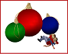 Christmas Ornaments Kiss