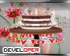 :D Rhelyn Birthday Cake