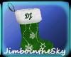 DJ's Christmas stocking