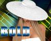 Bold White Hat