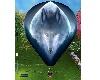 wolf hot air balloon