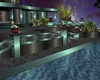luxury  poolside lounge