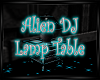 Alien Dj Lamp Table Anim