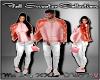 D- Fall Sweater Pink Lrg
