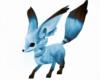 Blue Kitsune Fox