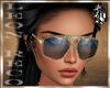 {L} Glasses Colored Sand