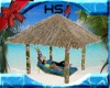 Tiki Thatched Lounger