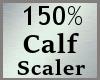 Scale Calf Calve 150% MA