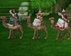 king magi camels 3d