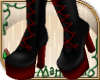 ! Rockabilly Red Boots