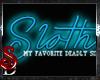 *SD*Sloth Sticker