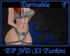 EP HD X3 Furkini Suit