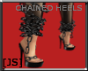 [JS] Chained Heels Black