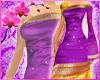 RC Indian Saree Purple