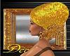Gold Hijab Hat