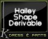 K| Hailey: Dress w/ Pant