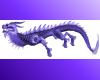 Amethyst Asian Dragon