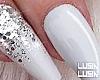 ♡ White Nails