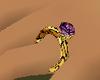 AmethystOnyx ring