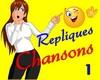 Repliques Chansons 1
