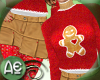 ~Ae~Xmas Fit Red/S