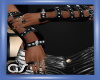 GS Blk Leather Arm Bands