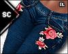 S  Rose Jeans Blue RL