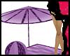^j^ Amethyst Umbrella