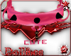 (DF)PINK CUTE COLLAR