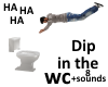 dip in WC toilet