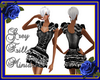 Grey Frill Minidress