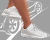 Custom Shoes White<Ash