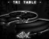 -LEXI- Tri Table: Black