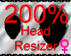 *M* Head Resizer 200%