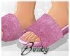 Velvet Slides Lavender