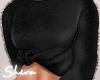 $ Fluffy Top Black