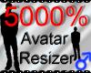 *M* Avatar Scaler 5000%