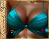 I~Sexy Teal Bikini Top