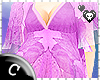 .C Lilac Kaftan