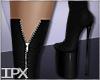 RL-Zipped Boots72 Black