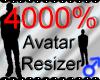 *M* Avatar Scaler 4000%