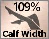 Calf Width Scale 109% FA