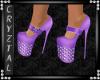 Kiara Purple Heels