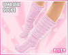 *MT* Warmie Socks Pink