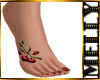~M~ Cherry Tattoo Feet