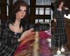 TF* Gray Plaid Nightgown