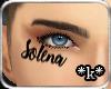 *k* Solena face tattoo