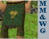 *MM* green/gold armor