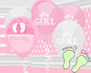 Its A Girl Balloons 2