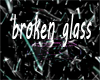 broken glass light